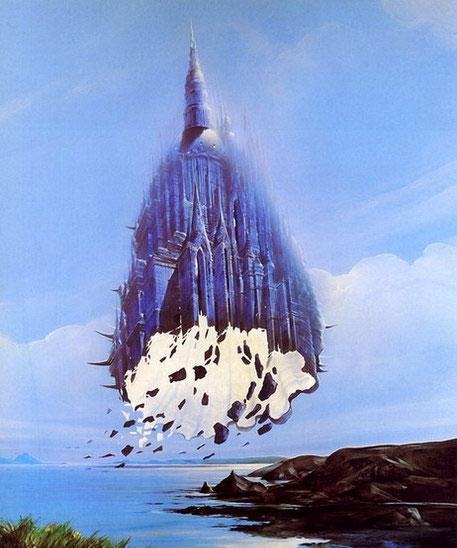 油画名称 科幻绘画 027